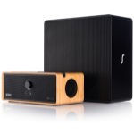 Orbitsound BM-DOCKE30SUB speaker set Bamboo