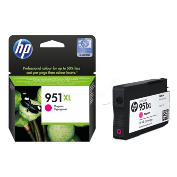 HP CN047AE (951XL) Ink cartridge magenta, 1.5K pages, 17ml