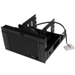 "StarTech.com 4x 2.5"" SSD/HDD Mounting Bracket with Cooling Fan"