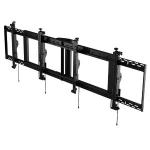 "Peerless DS-MBZ942L-2X1 flat panel ceiling mount 42"" Black"