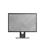 "DELL P2217 22"" TN Matt Black computer monitor"