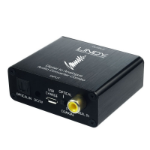 Lindy 70469 Black audio converter