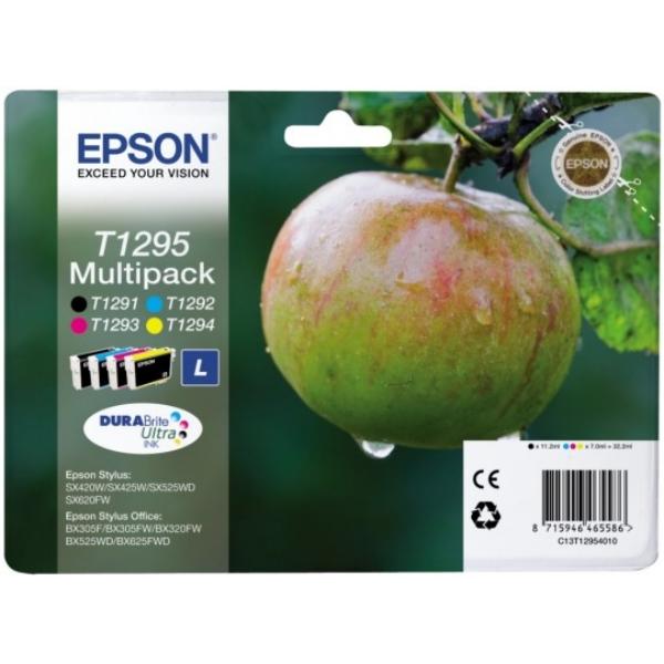 Epson C13T12954012 (T1295) Ink cartridge multi pack, 11,2 ml + 3x7 ml, Pack qty 4