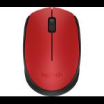 Logitech M171 mouse Ambidextrous RF Wireless