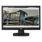 "HP V193 computer monitor 47 cm (18.5"") HD Matt Black"