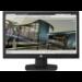 """HP V193 18.5"""" HD Matt Black computer monitor"""
