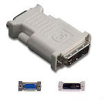 Belkin F2E4162 DVI-I HD D-Sub (HD-15) Grey cable interface/gender adapter
