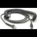 Zebra CBA-U09-C15ZAR cable USB 4,57 m USB A Gris