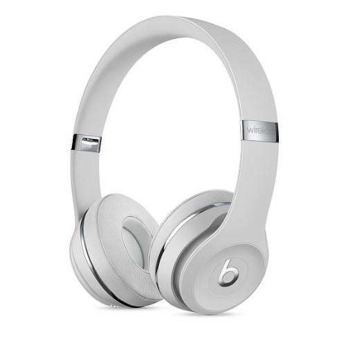 Apple Solo 3 Headphones Head-band Silver
