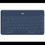Logitech Keys-To-Go Blue, Orange, White Bluetooth