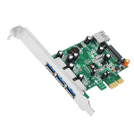 Siig DP 4-Port USB 3.0 PCIe Internal USB 3.0 interface cards/adapterZZZZZ], JU-P40311-S1