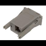Hewlett Packard Enterprise Q5T64A cable gender changer DB9 RJ-45 Gray