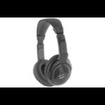 AV Link 100.524UK Black Circumaural Head-band headphone