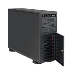 Supermicro SuperChassis 743TQ-865B-SQ Rack (4U) server