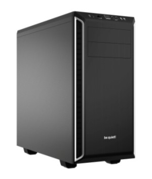 be quiet! Pure Base 600 Midi Tower Black, Silver