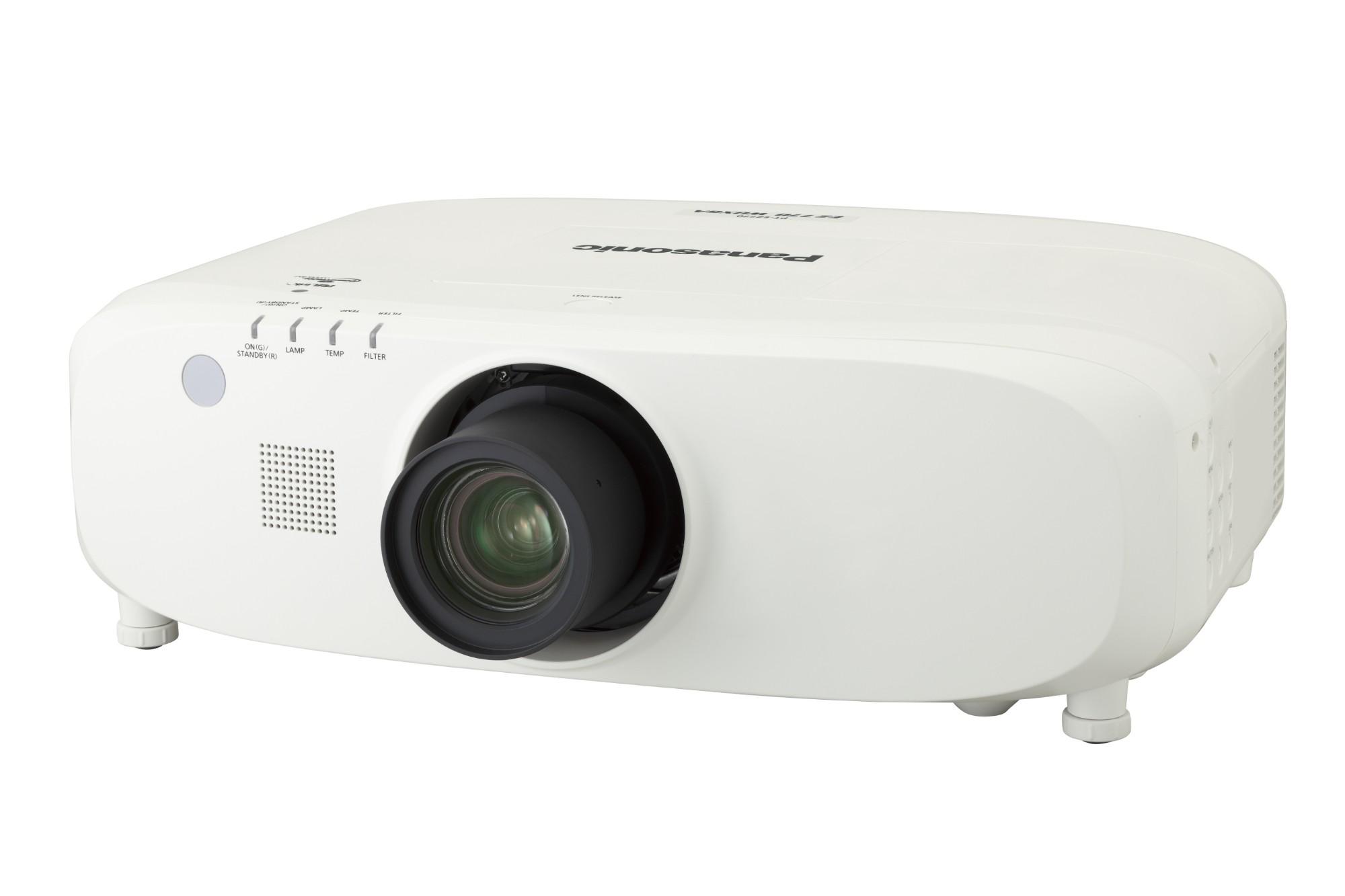 Panasonic PT-EX800Z data projector 7500 ANSI lumens LCD XGA (1024x768) Desktop projector White