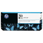HP C1Q16A (764) Ink cartridge black matt, 300ml