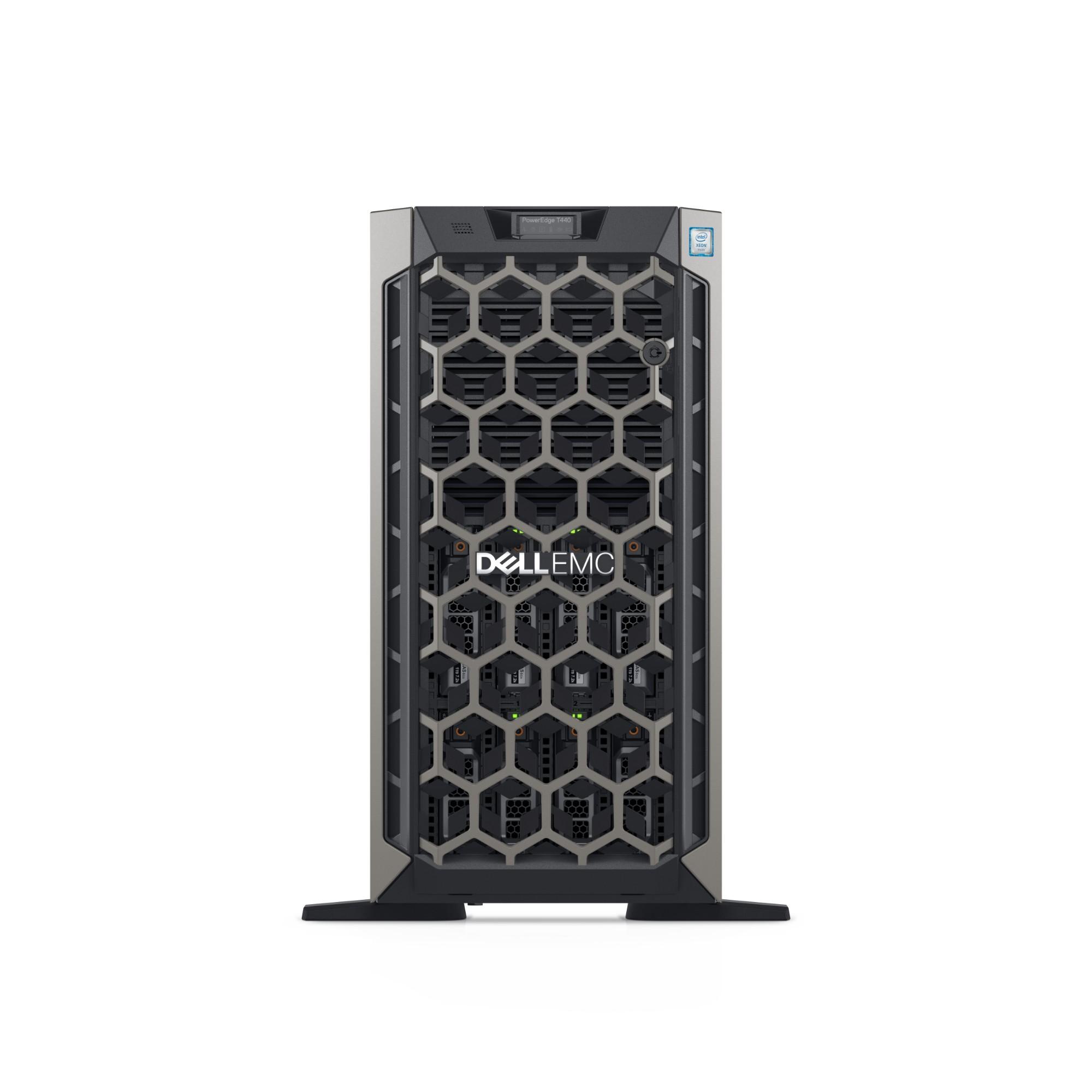DELL PowerEdge T440 servidor Intel® Xeon® Silver 2,1 GHz 16 GB DDR4-SDRAM Torre (5U) 495 W
