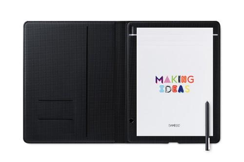 Wacom Bamboo Folio graphic tablet 210 x 297 mm USB Grey