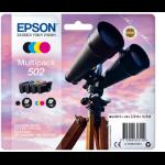 Epson C13T02V64010 (502) Ink cartridge multi pack, 4,6ml + 3x3,3ml, Pack qty 4