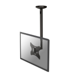 Newstar FPMA-C060BLACK - 50-85cm height adjustable flat panel ceiling mount - up to 40""