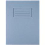 Silvine 9X7 EXER BOOKS 7MM SQ BLUE EX106