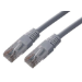 MCL 3m Cat5e U/UTP cable de red U/UTP (UTP) Gris