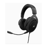 Corsair HS60 STEREO 7.1 Surround Gaming Headset, Carbon.