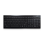 Genius KB-125 USB keyboard QWERTY US International Black