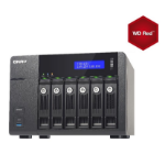 QNAP TVS-671-i3-4G/18TB-Red  6 Bay NAS
