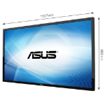 "ASUS SP6540-T Digital signage flat panel 65"" Full HD Black"