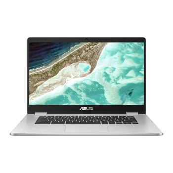 ASUS C523 Chromebook Celeron N3350 4GB/64GB 15.6 FHD Chrome Silver