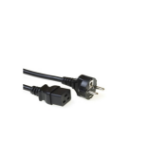 Microconnect PE011430 power cable Black 2.5 m CEE7/7 C19 coupler