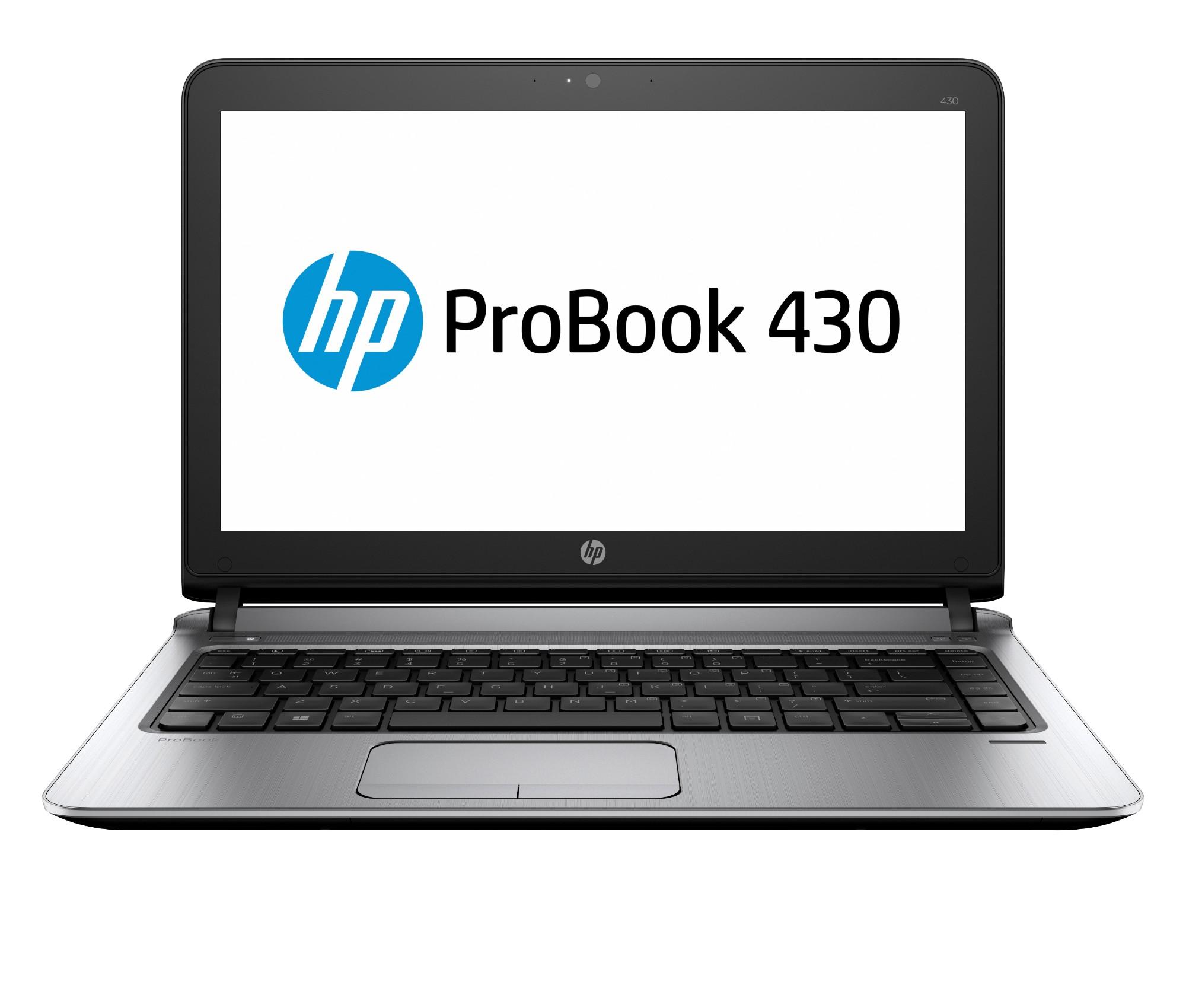 "HP ProBook 430 G3 Black,Silver Notebook 33.8 cm (13.3"") 1366 x 768 pixels 6th gen Intel® Core™ i5 i5-6200U 4 GB DDR4-SDRAM 500 GB HDD"
