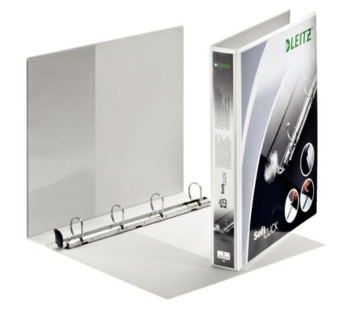 Leitz Premium SoftClick ring binder A4 White