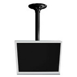 Peerless LCC-36 Black flat panel ceiling mount