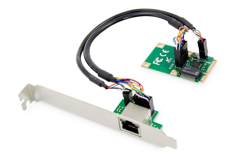 Digitus DN-10133 networking card Ethernet 1000 Mbit/s Internal