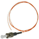 Microconnect FIBSTMPIG2 2m ST/UPC Orange fiber optic cable