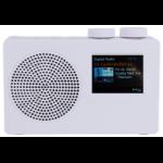 POP deluxe radio Portable Digital White
