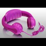 Aluratek AKH01F Pink Circumaural Head-band headphone
