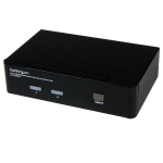 StarTech.com 2 Port USB HDMI KVM Switch with Audio and USB 2.0 Hub