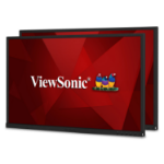 "Viewsonic VG Series VG2448_H2 DUAL MONITORS 24"" 1920 x 1080 pixels Full HD LED Black"
