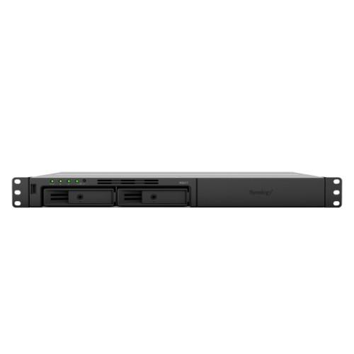 Synology RackStation RS217 Ethernet LAN Rack (1U) Black NAS