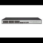 Hewlett Packard Enterprise OfficeConnect 1950 24G 2SFP+ 2XGT Managed L3 Gigabit Ethernet (10/100/1000) 1U Gray
