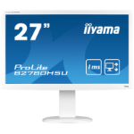 "iiyama ProLite B2780HSU-W1 27"" Full HD TN Matt White computer monitor LED display"