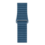 Apple MTH92ZM/A Band Blue Leather Medium