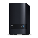 Western Digital My Cloud EX2 Ultra NAS Eingebauter Ethernet-Anschluss Schwarz Armada 385