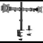 "Gearlab GLB227001 flat panel desk mount 68.6 cm (27"") Clamp Black"
