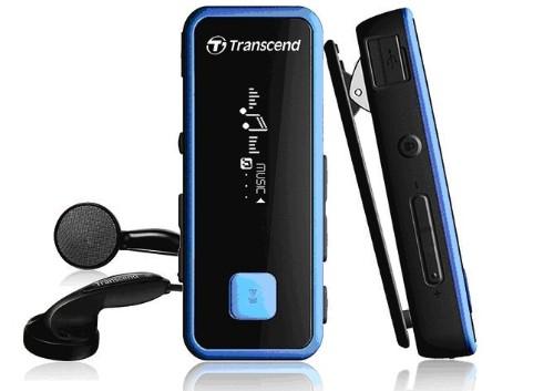 Transcend MP350 MP3 player Black 8 GB