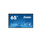 "iiyama ProLite TE6568MIS-B1AG 65"" 3840 x 2160pixels Multi-touch Multi-user Black touch screen monitor"